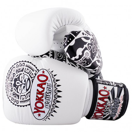 Yokkao Rękawice bokserskie Maui Białe 2
