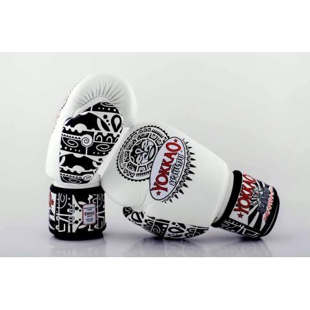 Yokkao Rękawice bokserskie Maui Białe 3