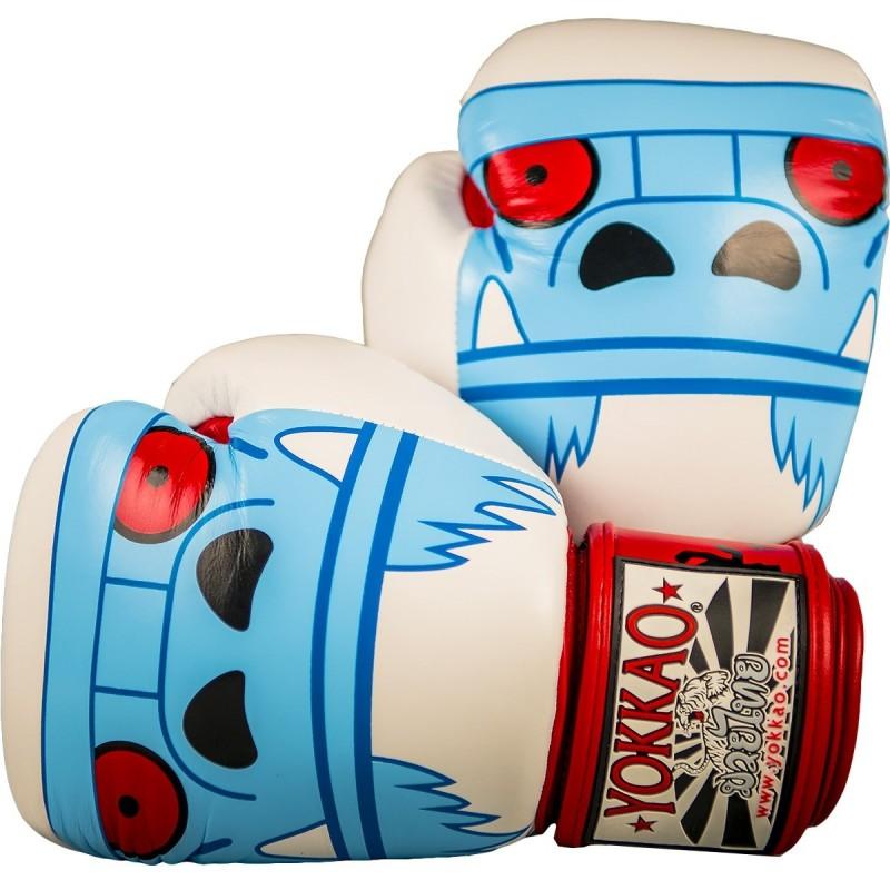 Yokkao Rękawice bokserskie Monster Białe