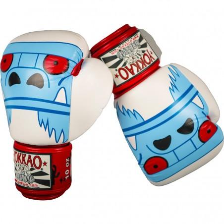 Yokkao Rękawice bokserskie Monster Białe 2