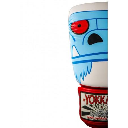 Yokkao Rękawice bokserskie Monster Białe 3