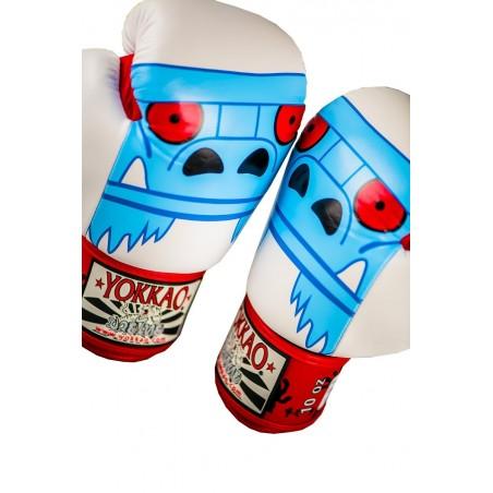 Yokkao Rękawice bokserskie Monster Białe 4