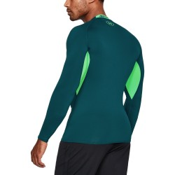 Under Armour HeatGear Armour Longsleeve Zielony 1