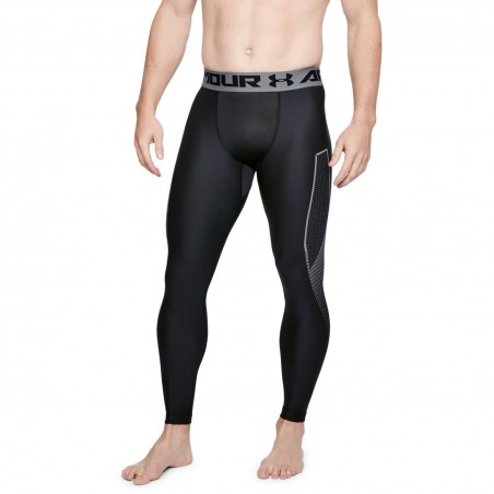 Under Armour Heatgear Armour Legging Graphic Czarne 1