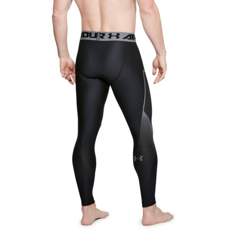 Under Armour Heatgear Armour Legging Graphic Czarne 2