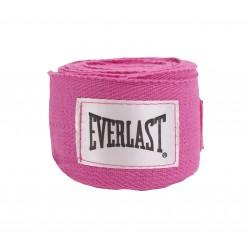 Everlast Bandaże bokserskie 3m Różowe 1
