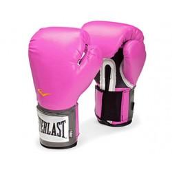 Everlast Rękawice bokserskie Pro Style Różowe 1