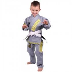 Tatami Kimono/Gi do BJJ dla Dzieci Animal Szare 1