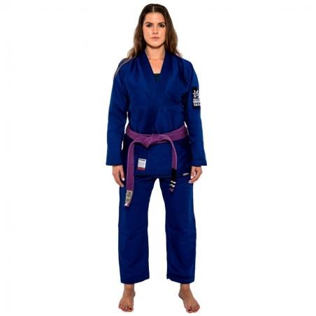 Tatami Kimono/Gi Damskie Hokori Minimal Niebieskie 2