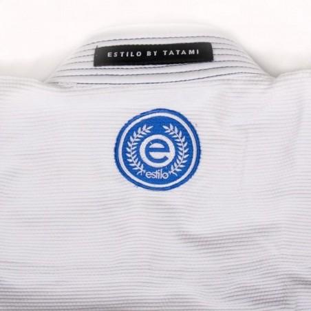 Tatami Kimono/Gi Damskie Estilo 6.0 Białe/Błękitne  7