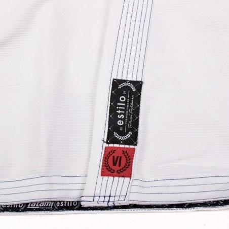 Tatami Kimono/Gi Damskie Estilo 6.0 Białe/Błękitne  10