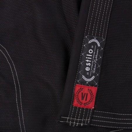 Tatami Kimono/Gi Damskie Estilo 6.0 Czarne/Grafitowe 9