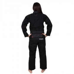 Tatami Kimono/Gi Damskie Estilo 6.0 Czarne/Czarne 1