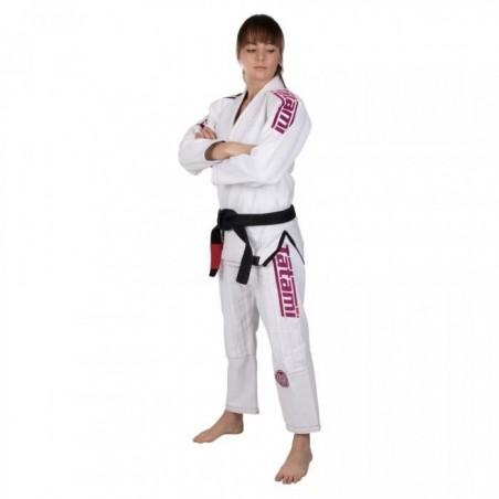 Tatami Kimono/Gi Damskie Estilo 6.0 Białe/Różowe 3