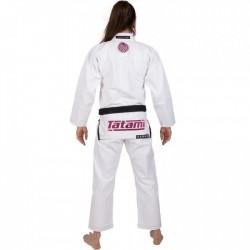 Tatami Kimono/Gi Damskie Estilo 6.0 Białe/Różowe 1