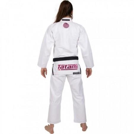 Tatami Kimono/Gi Damskie Estilo 6.0 Białe/Różowe 4