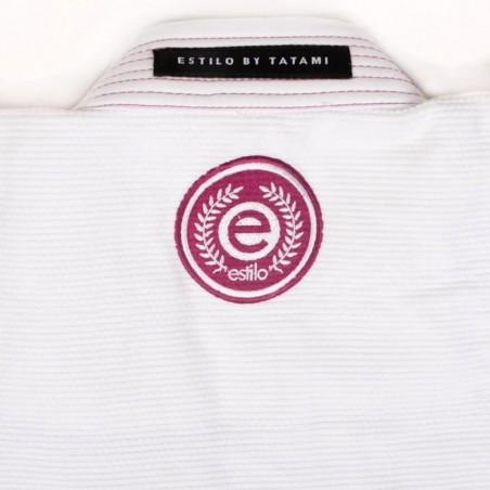 Tatami Kimono/Gi Damskie Estilo 6.0 Białe/Różowe 6