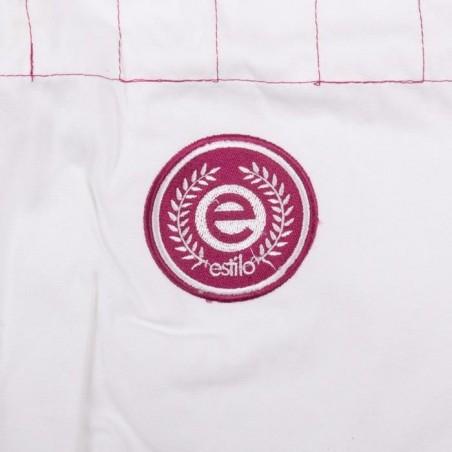 Tatami Kimono/Gi Damskie Estilo 6.0 Białe/Różowe 14