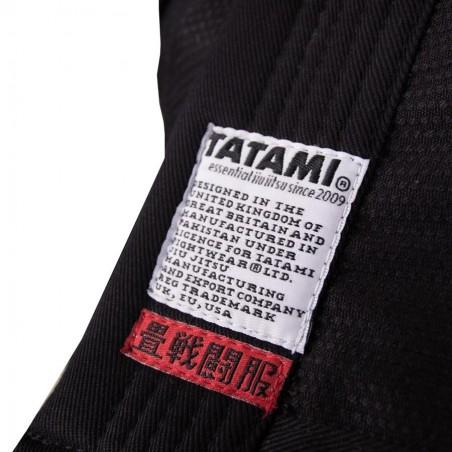 Tatami Kimono/Gi Hokori Minimal Czarne 6