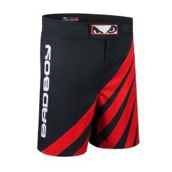 Bad Boy Spodenki MMA Impact Czarne/Czerwone 1