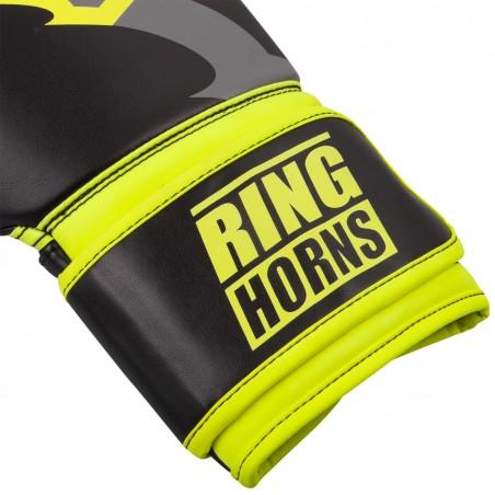 Ringhorns Rękawice bokserskie Charger Czarne/Zielone 3