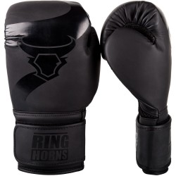 Ringhorns Rękawice bokserskie Charger Czarne/Czarne 1