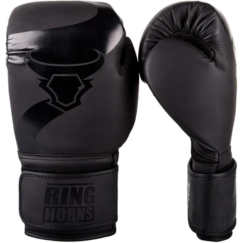 Ringhorns Rękawice bokserskie Charger Czarne/Czarne