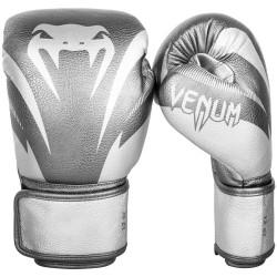Venum Rękawice bokserskie Impact Srebrne 1