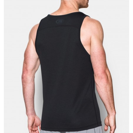Under Armour Tech Tank Czarny 3