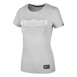 Pit Bull T-shirt Damski Boxing 18 Szary 7