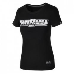 Pit Bull T-shirt Damski Boxing 18 Czarny 4