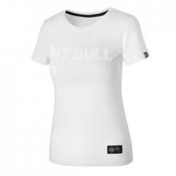 Pit Bull T-shirt Damski Seascape 18 Biały 5