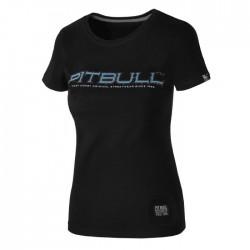 Pit Bull T-shirt Damski Blue Eyed Devil 18 Czarny 2