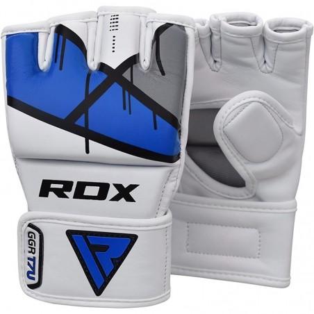 RDX Rękawice do MMA GGL- T7 Niebieski 3