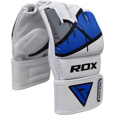 RDX Rękawice do MMA GGL- T7 Niebieski 5