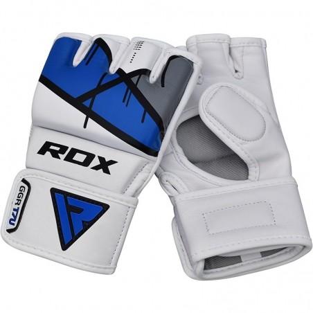 RDX Rękawice do MMA GGL- T7 Niebieski 6