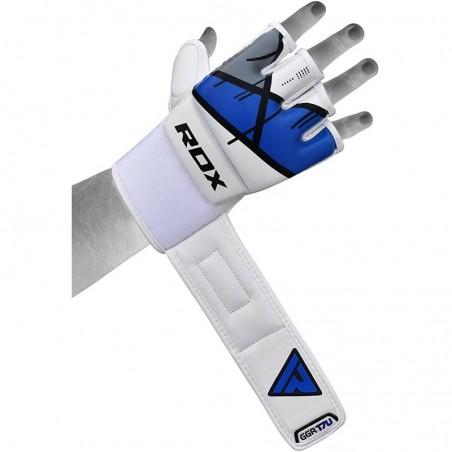 RDX Rękawice do MMA GGL- T7 Niebieski 7