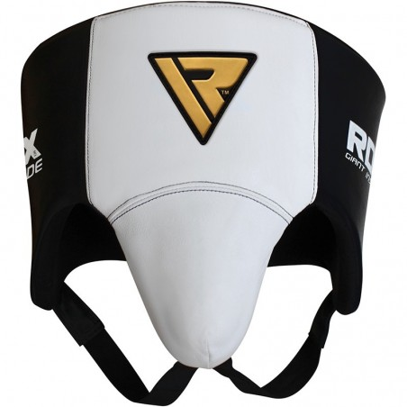 RDX Suspensor Bokserski L1 Gel Biały/Czarny 4