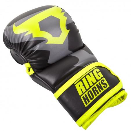 Ringhorns Rękawice MMA Charger Czarne/ Żółte 3