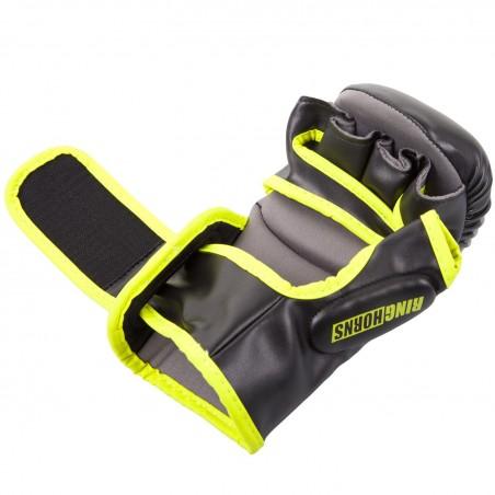 Ringhorns Rękawice MMA Charger Czarne/ Żółte 4