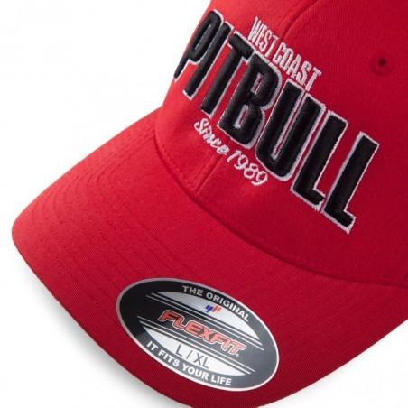 Pitbull Full Cap Classic Since 1989 Czerwony 1