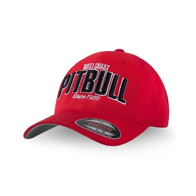 Pitbull Full Cap Classic Since 1989 Czerwony