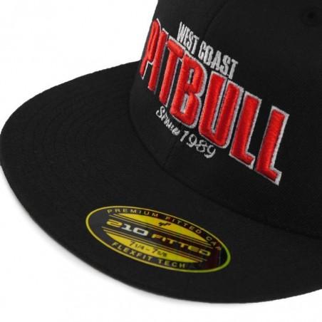 Pitbull Full Cap Flat Since 1989 Czarny 3