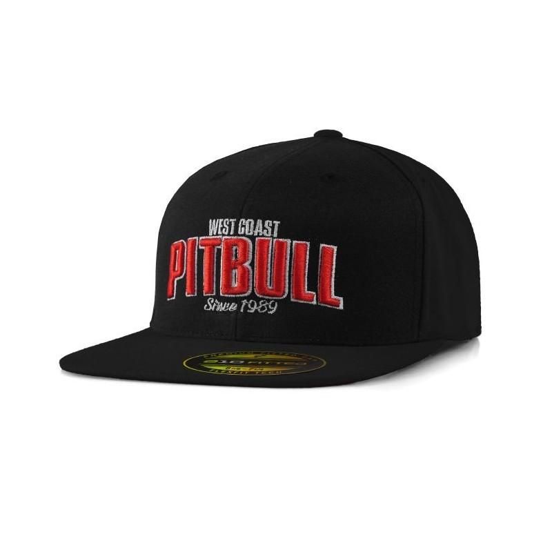 Pitbull Full Cap Flat Since 1989 Czarny