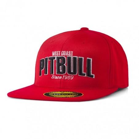 Pitbull Full Cap Flat Since 1989 Czerwony 1