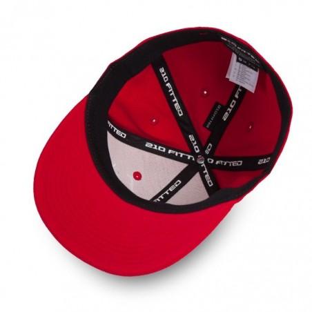 Pitbull Full Cap Flat Since 1989 Czerwony 4