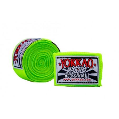 Yokkao Bandaże bokserskie Zielone 1