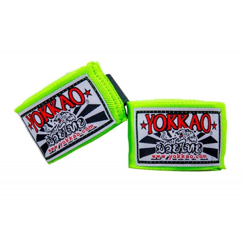 Yokkao Bandaże bokserskie Zielone