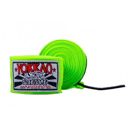 Yokkao Bandaże bokserskie Zielone 3