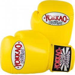 Yokkao Rękawice bokserskie Matrix Żółte 2